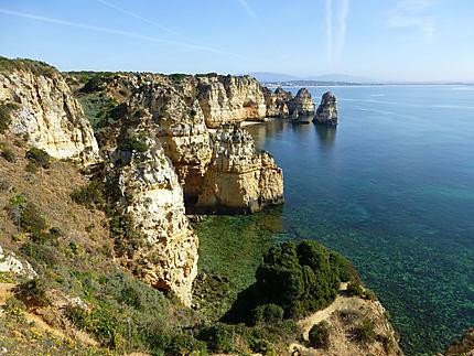Etretat Version Algarve Falaise Ponta Da Piedade Lagos