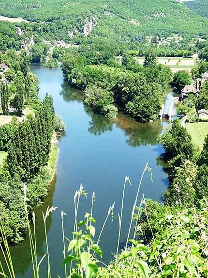 Le Lot à Saint-Cirq Lapopie