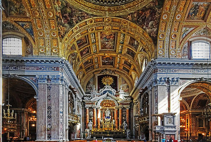 Naples église Gesu Nuovo