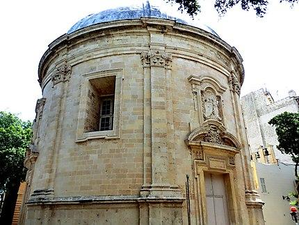 Sarria Church chapelle (1661)
