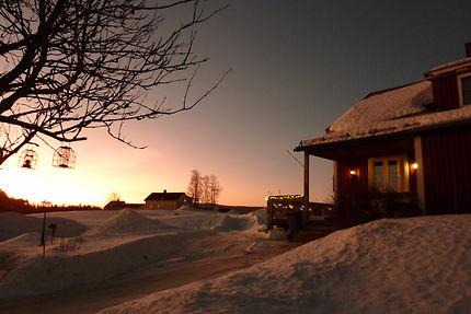 En direction de Jokkmokk, Suède