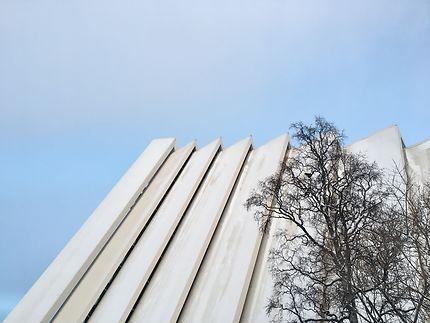 La cathédrale arctique de Tromsø
