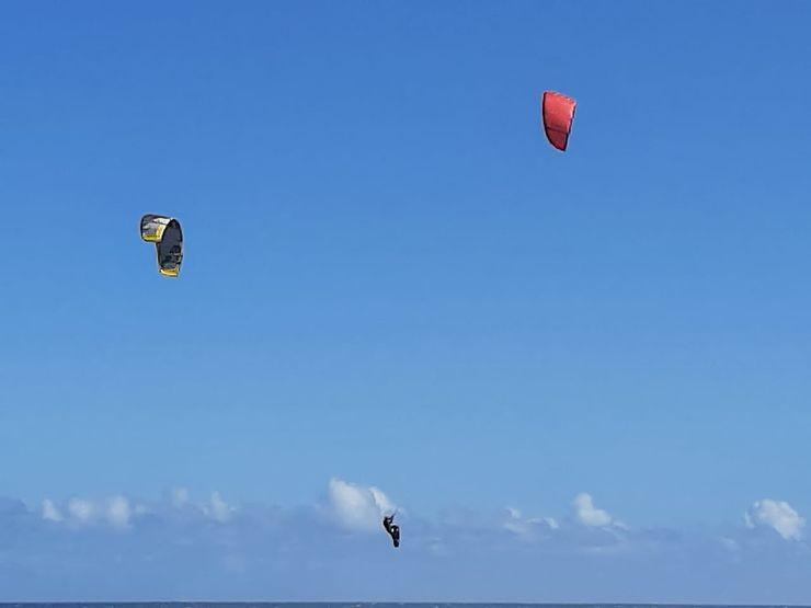 Kite surf à La Réunion