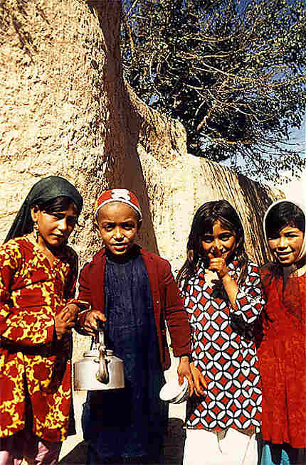 Enfants Afghans