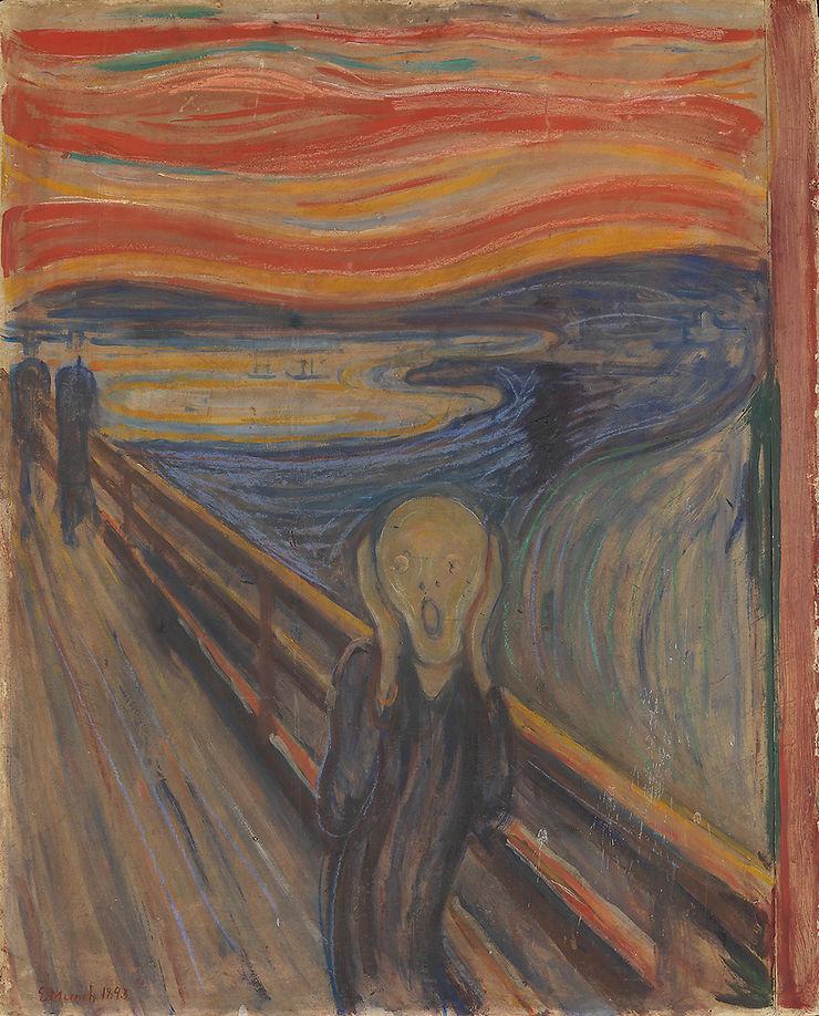 Sur les traces d'Edvard Munch à Oslo