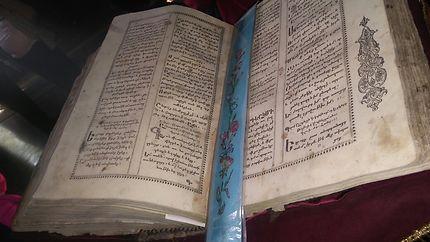 Livre de 1686 ans. L'église de la Sainte-Vierge