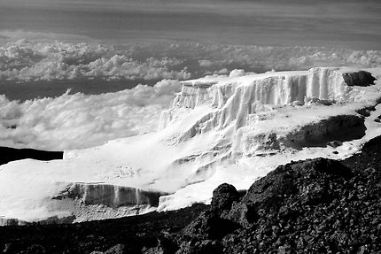 Le sommet du Kilimandjaro
