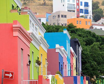 Un quartier sud africain haut en couleur