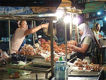 Krabi, le marché de nuit