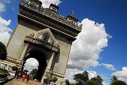 Arc de tiomphe à Vientiane