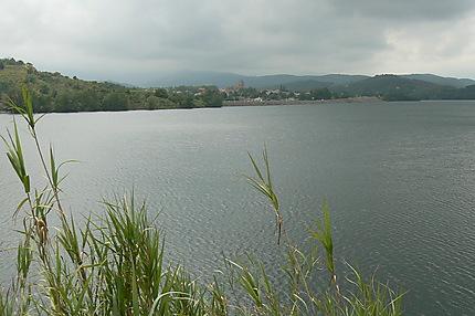 Lac de Prades vu depuis le barrage