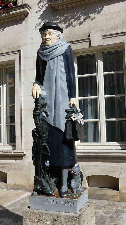 Marie Noël, Poétesse d'Auxerre