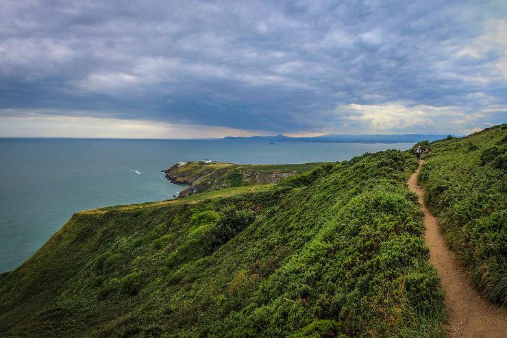 Le long des falaises d'Howth, Irlande