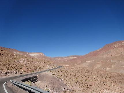 En direction de Rio Grande, Chili
