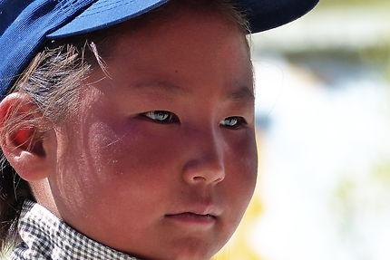 Écolière en Inde