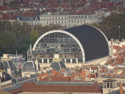 Forme de l'opéra de Lyon