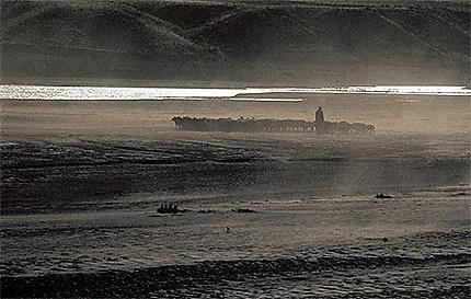 Vent de sable en Afghanistan
