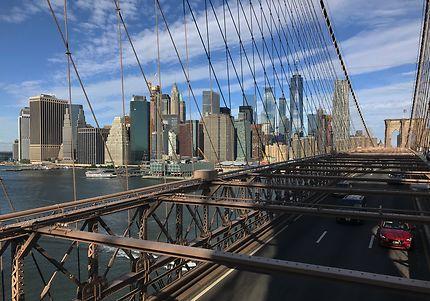 Manhattan depuis le pont