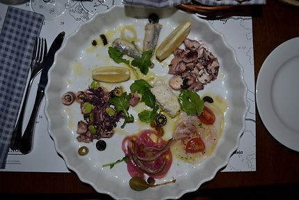 Kantinon Tavern à Rovinj, Croatie