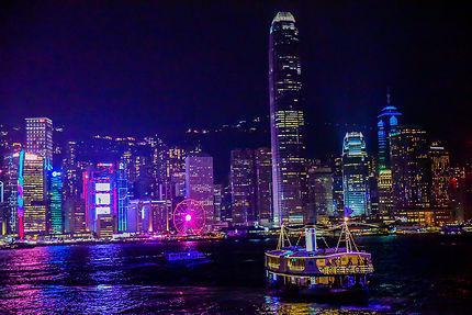 Star Ferry dans la baie de Hong Kong