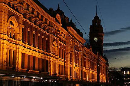 Flinder Station (la gare) à Melbourne