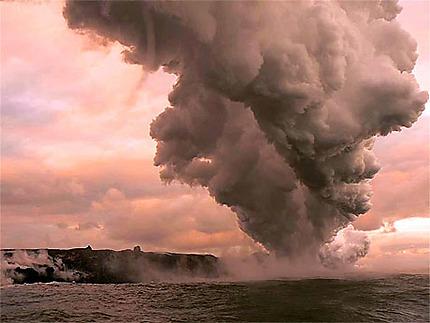 Eruption sous marine