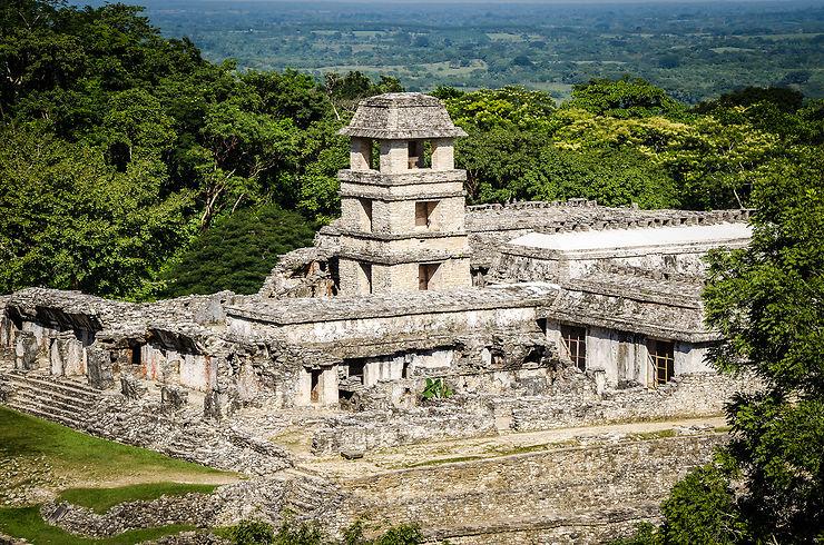 Palenque et autres sites mayas