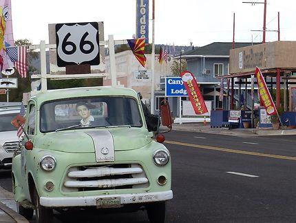 La route 66 à Seligman