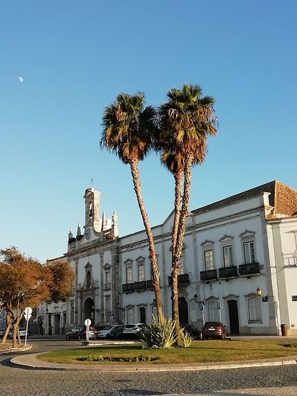 Faro centre au Portugal
