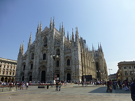Duomo sous le soleil du matin