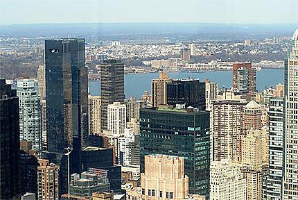 Downtown vu du Top of the Rock