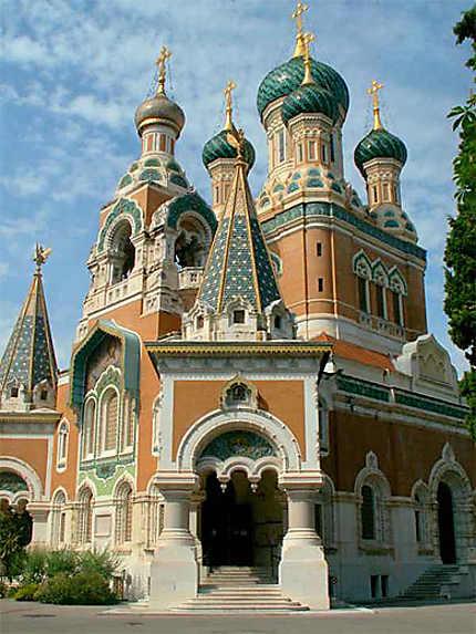 Nice - La cathédrâle orthodoxe russe Saint-Nicolas