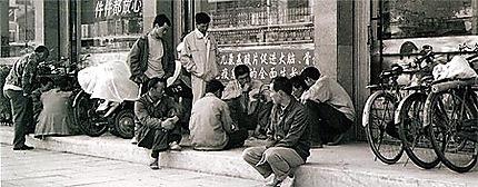Scène de vie en Chine