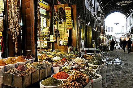 Couleurs du souk : Marchés : Vieille ville de Damas : Damas ...