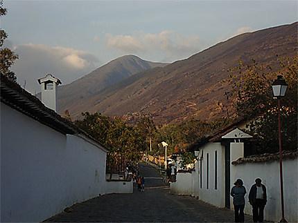 Coucher de soleil à Villa de Leyva