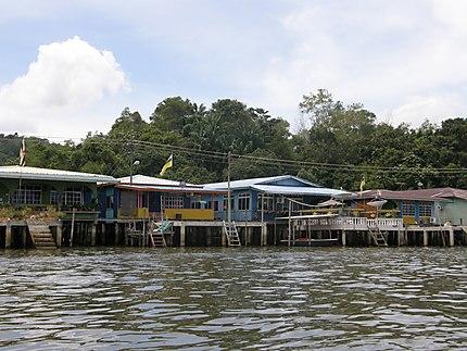 Maisons sur Kampong Ayer