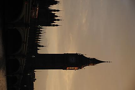Crépuscule sur le Big Ben