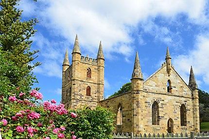 Site historique de Port Arthur : l'église