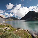 Lac dans la région de Geiranger
