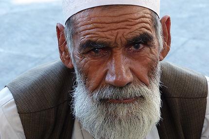 Portrait d'homme à Yazd, Iran