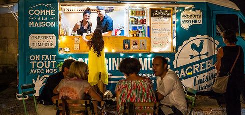 Street food en France - Food truck Atelier d'Epicure