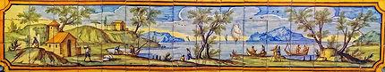 Naples Cloître de Santa Chiara