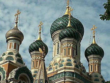 Cathédrâle Orthodoxe russe Saint-Nicolas à Nice