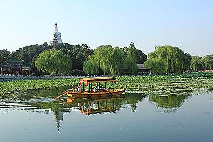 Romantique croisière au parc Beihai