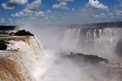 Chutes vue du côté Brésilien
