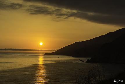 Sunset sur Big Sur