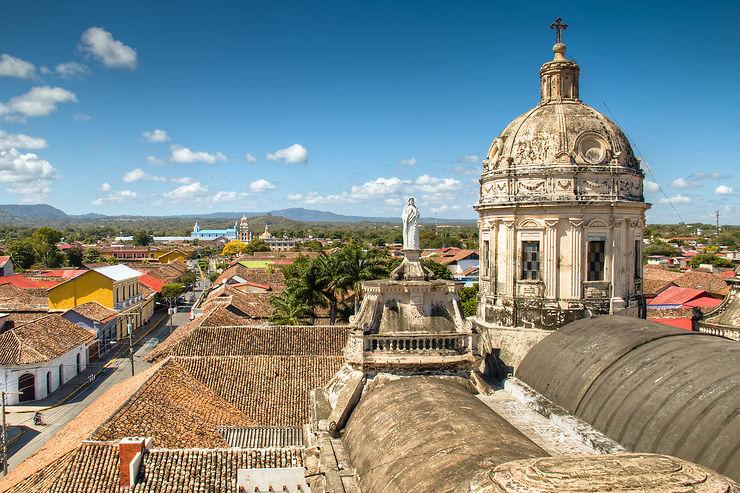 Granada et le lac Nicaragua (Nicaragua)