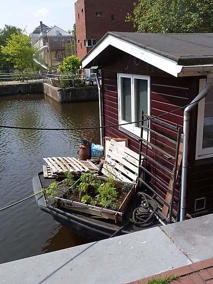 Péniche à Amsterdam