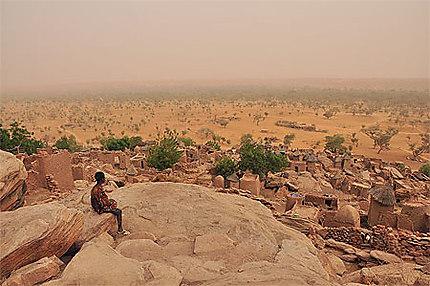 Contemplation du paysage