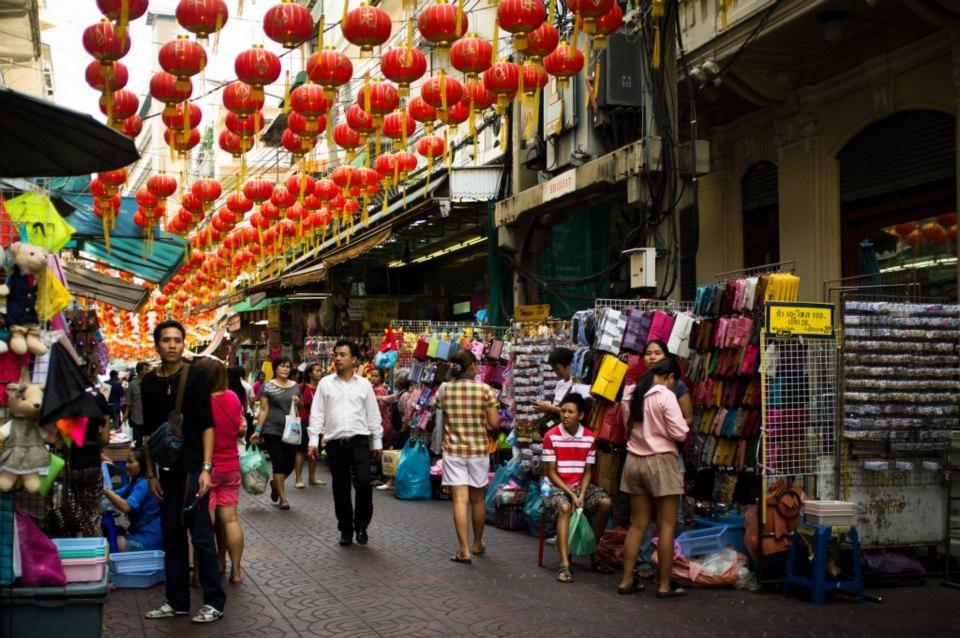 Quartier chinois (Chinatown) - Bangkok